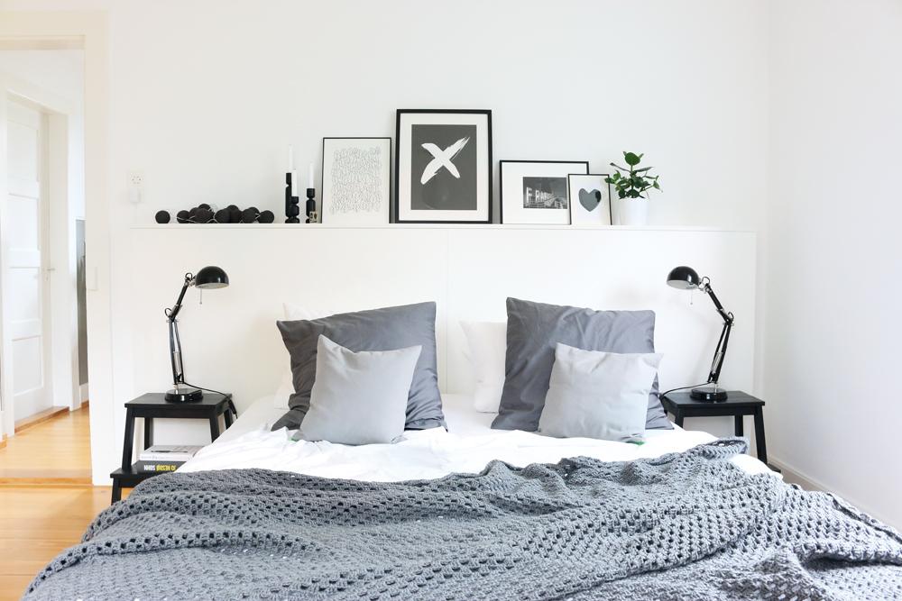 hereinspaziert ins lilahaus das schlafzimmer lilaliv. Black Bedroom Furniture Sets. Home Design Ideas