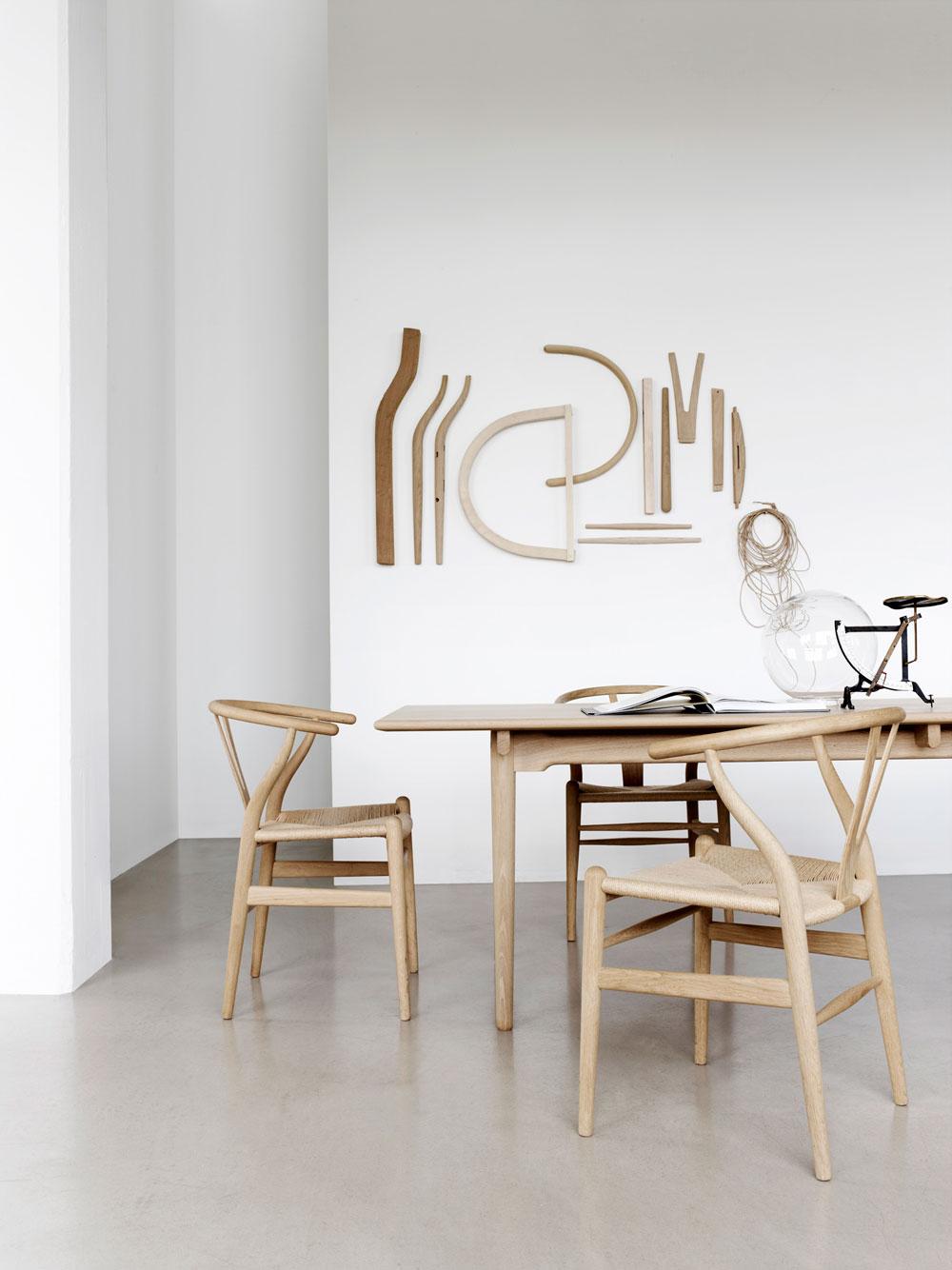design klassiker der wishbone chair lilaliv. Black Bedroom Furniture Sets. Home Design Ideas
