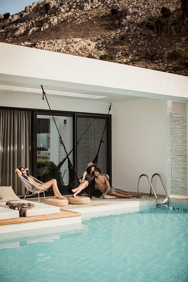 travel in style hotel casacook auf rhodos lilaliv. Black Bedroom Furniture Sets. Home Design Ideas