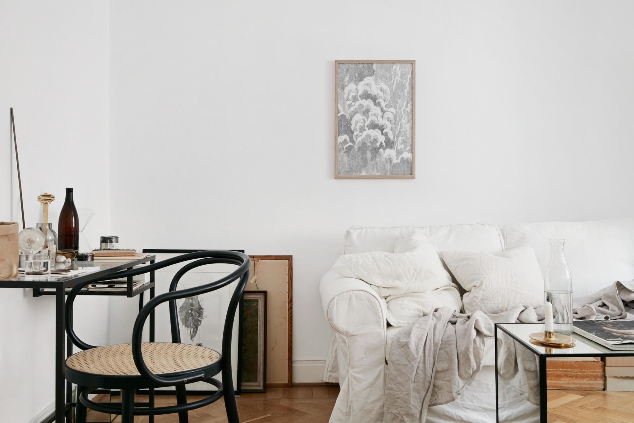 Perfekt Um Kleine Räume Grösser Scheinen Zu Lassen. Wieder Mal Bloss Ein  Raum, Aber Mit Ganz Viel Style. Ich Bin Begeistert Und Ihr?